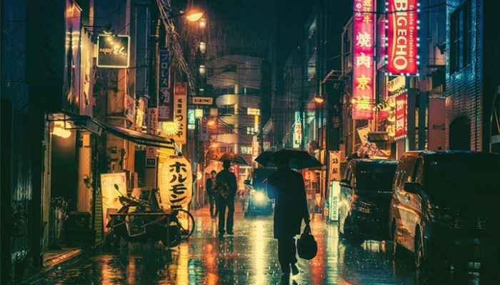 Волшебная красота ночного Токио
