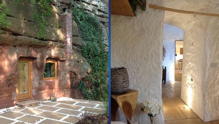 Шикарный дом в 700-летней пещере