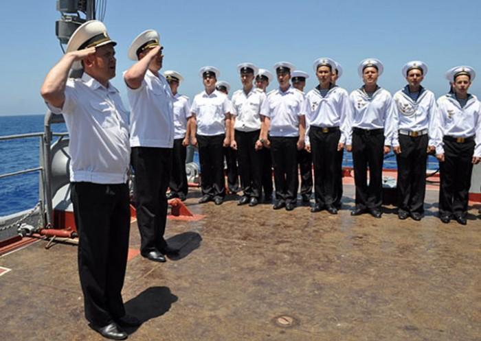 Адмирал сделал замечание капитану корабля, а в ответ услышал ТАКОЕ…