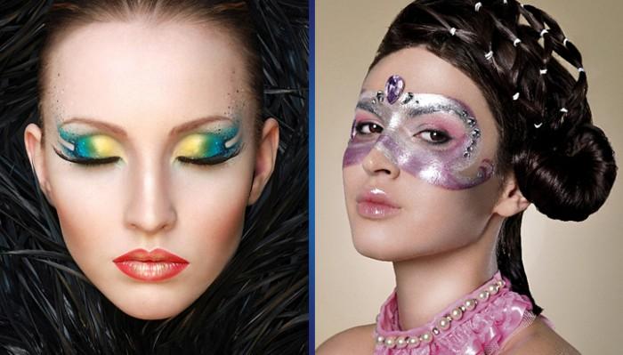 А вам хватило бы смелости на ТАКОЙ макияж?
