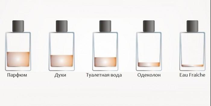 Духи, туалетная вода, парфюм … Разница …