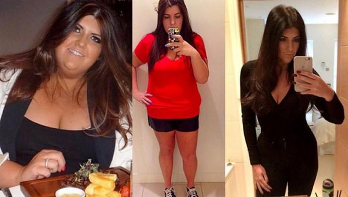 Она взяла себя в руки и похудела на 83 килограмма! Потрясающая сила воли!