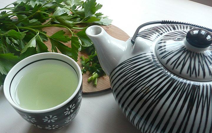 чай из петрушки для похудения