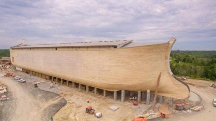 В Америке Построили Точную Копию Ноева Ковчега В Натуральную Величину