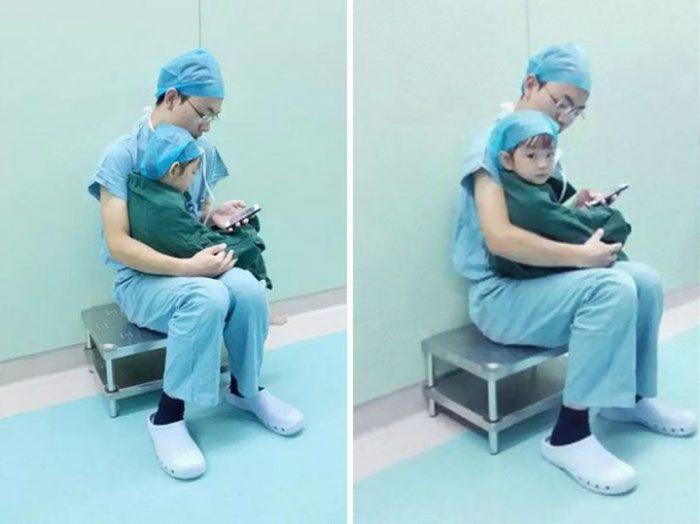Напуганная Девочка Расплакалась Перед Операцией. То, Что Сделал Ее Хирург Заставило Мое Сердце Сжаться…