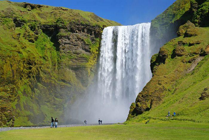 Водопад Скоугафосс, Исландия – чудо природы, которое впечатляет до глубины души! (11 фото)