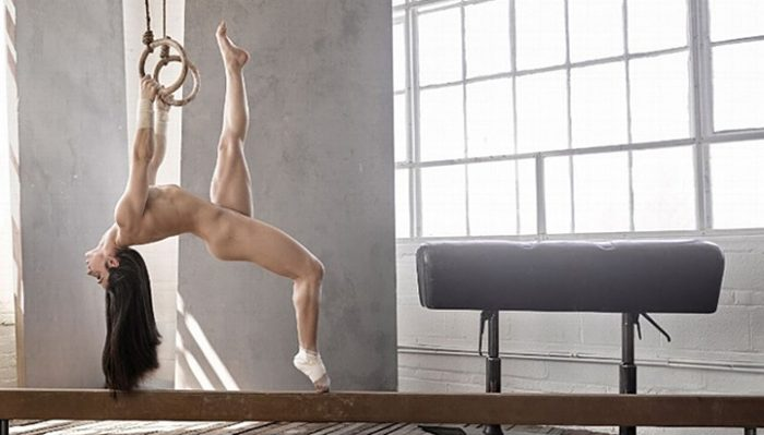 Обнаженная гимнастка взяла золото на Олимпиаде в Рио