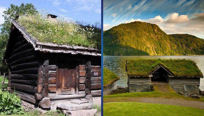 11 фотографий домов в Норвегии, где главная природа, а не человек!