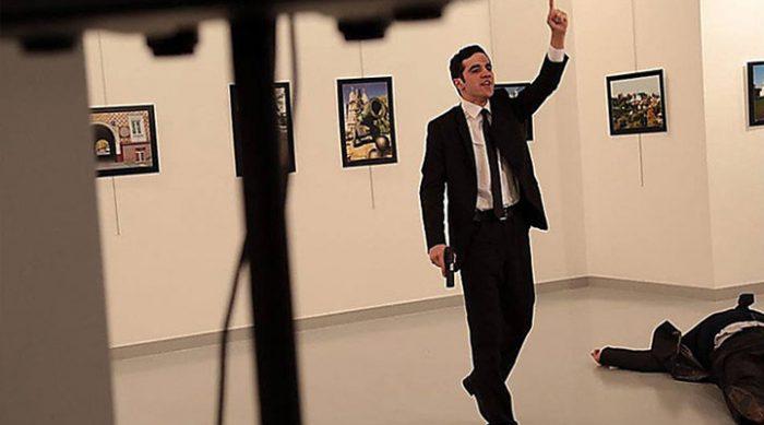 «Месть за Алеппо!» – в Турции застрелили посла России (Видео 18+)