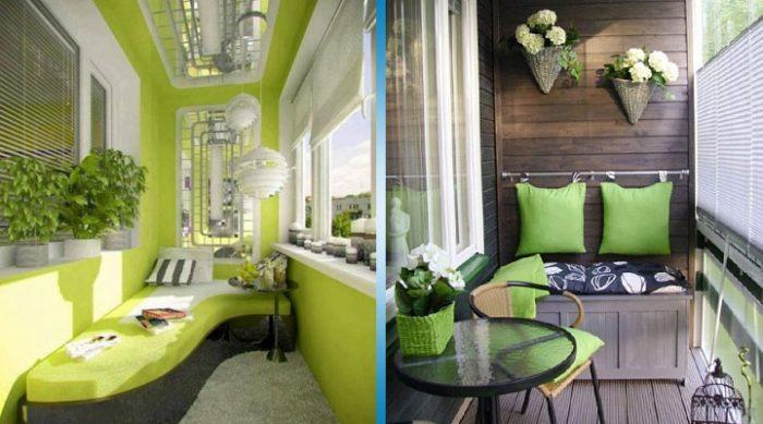 20 крутых идей для обустройства лоджии или балкона