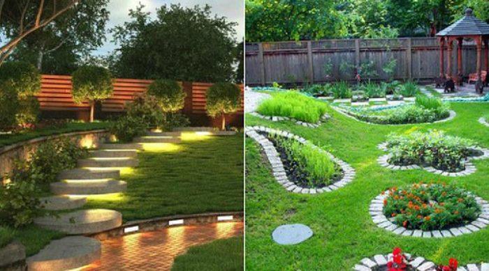 Несколько фантастических идей для оформления заднего двора