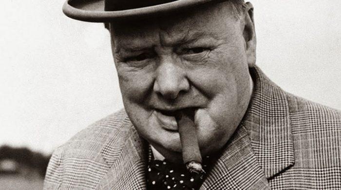Уинстон Черчилль: «Если вы можете начать день без кофеина…»
