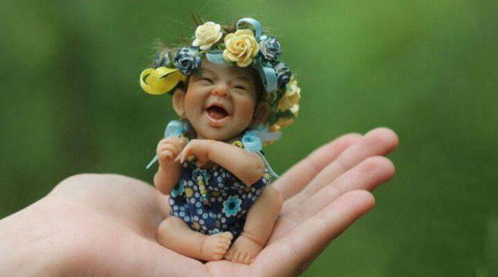 Чудесные куколки из запекаемого пластика Елены Кириленко