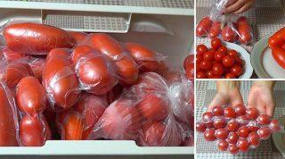 Удивительно полезный совет, как хранить томаты круглый год