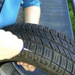Смотрите, как обманывают нас продавцы шин, всего несколькими движениями делая из старой резины – новую!