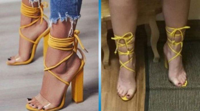 Однажды я заказала обувь в интернете и вот что получилось