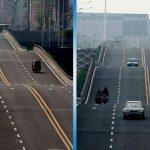 Эта волнообразная дорога наводит ужас на водителей! А вы бы проехали по ней?