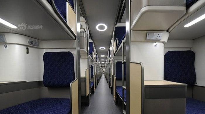 Вот как выглядят плацкартные вагоны в Китае, оцените!