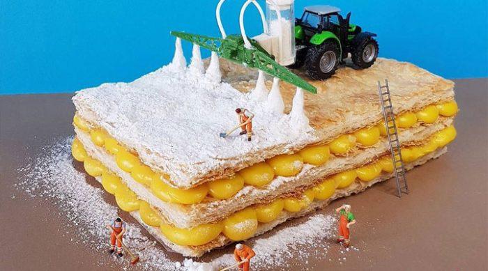 «Сладости Гулливера»: сладкий мир в миниатюре от итальянского кондитера