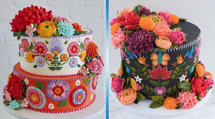 Невероятные торты, которым место в художественной галерее!