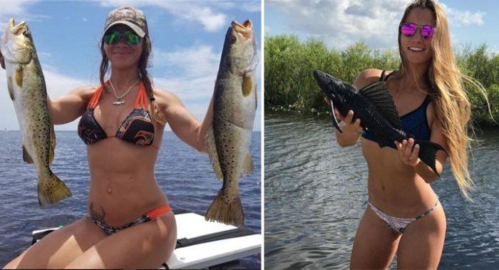 Вот по-этому все мужчины без ума от рыбалки. Волшебный клёв