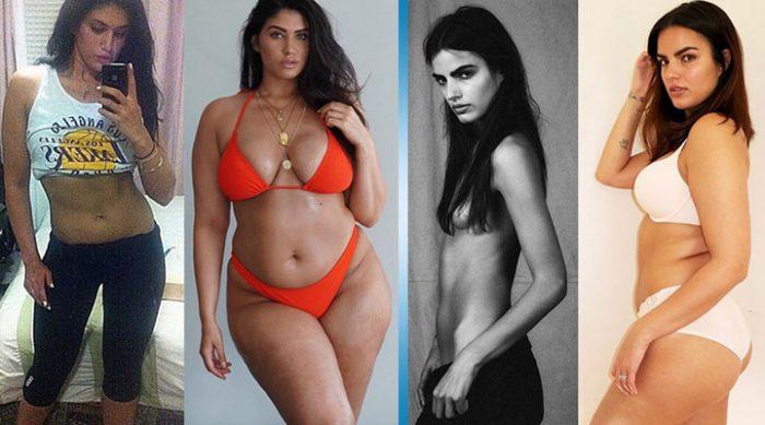 Эти модели стали знаменитыми, потому что решили набирать вес.